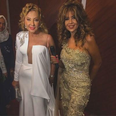 بالصور فستان نادية الجندي شبه العاري بمهرجان الإسكندرية يفجر موجة سخرية واسعة