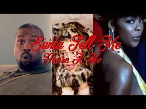 Ariana Grande x Khia x Kanye West x Lil Pump - Santa Tell Me You're A Ho