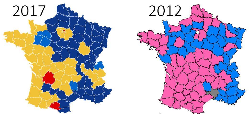 Risultati immagini per politiche assemblea francese  2017 risultati