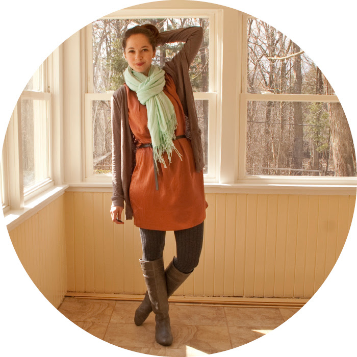 dash dot dotty clay joie silk dress turquoise scarf fashion outfit blog boots