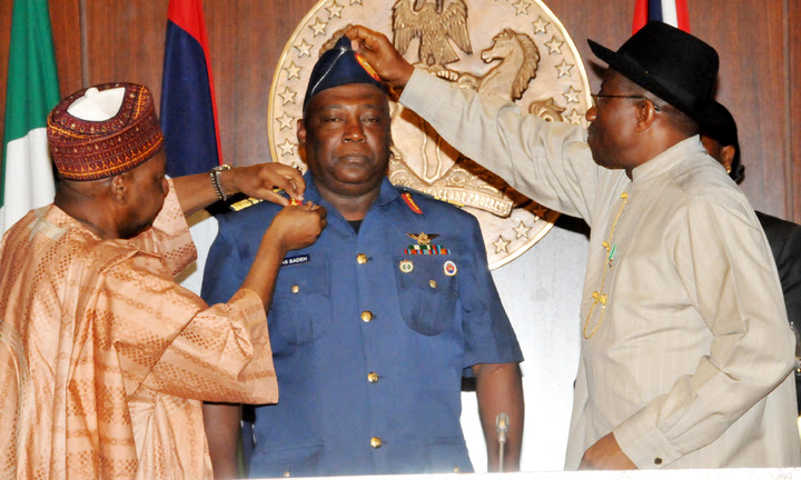 Air marshal Alex Badeh