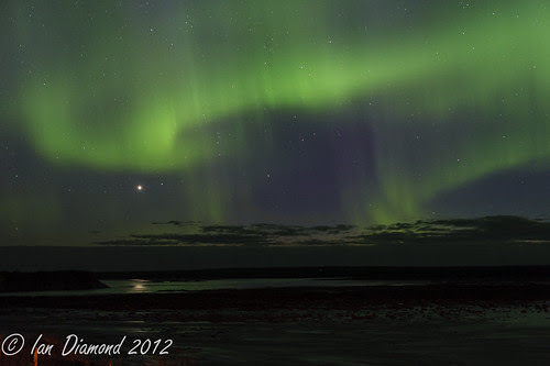 Rupert River Rapids and the Northern Lights  BUD_4882