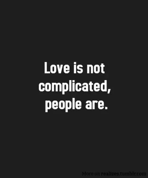 Love Relationship Sad Quotes Complicated Halseycon