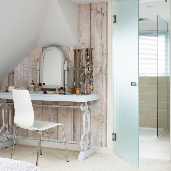 Dressing area/shower room | Step inside a fun family Victorian home in south London | House tour | PHOTO GALLERY | Livingetc | Housetohome.co.uk