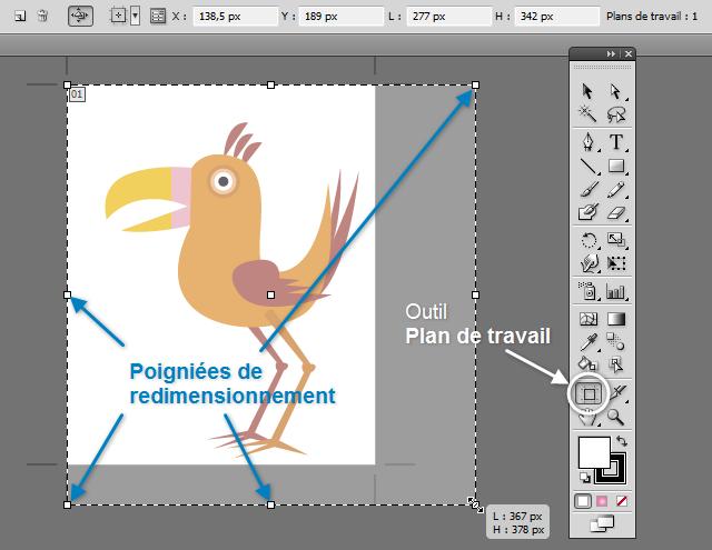 Agrandir La Zone De Travail Sur Illustrator