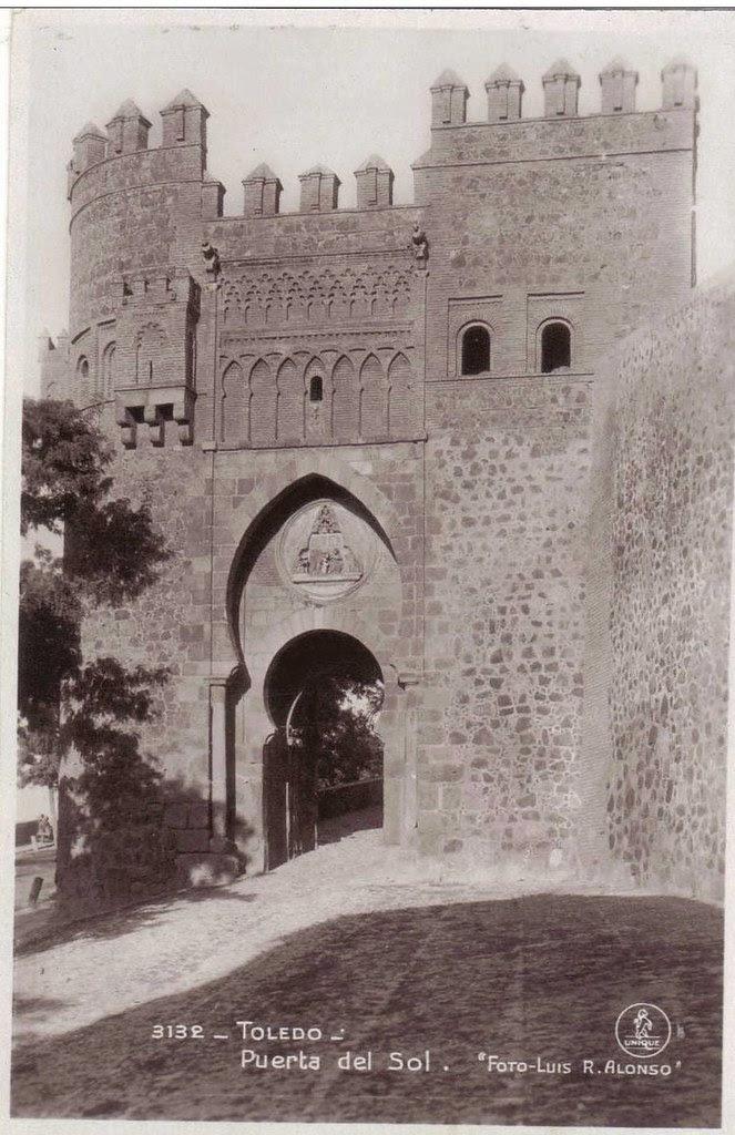 Puerta del Sol a comienzos del siglo XX. Foto Alonso