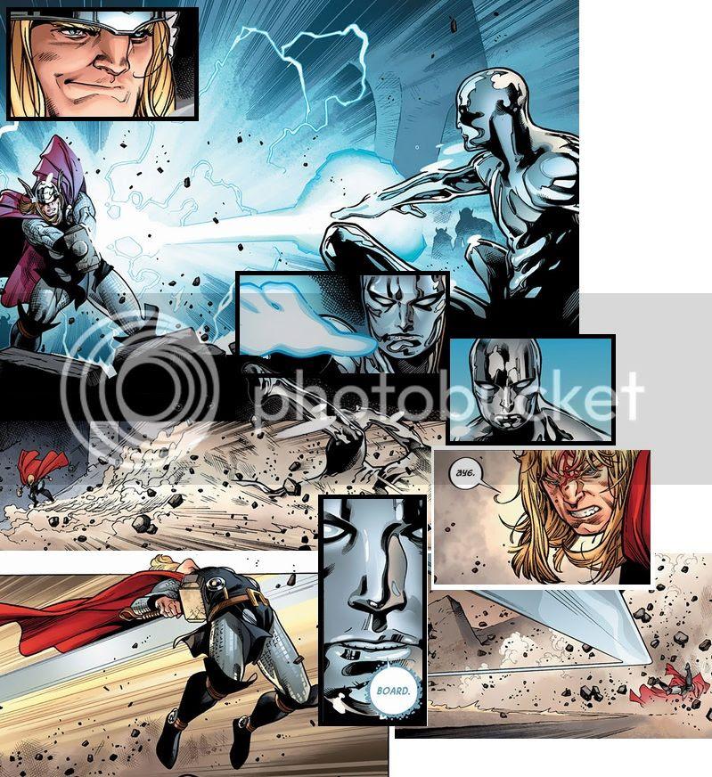 Thor vs Surfista
