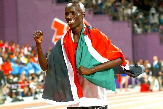 Ezekiel Kemboi, campeão dos 300m (Foto: Agência Reuters)