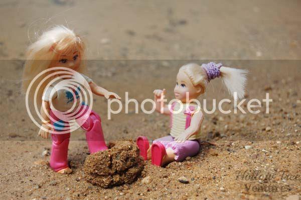 As The Dollhouse Turns - sand castle stomp