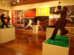 Big Leagues, Little Bricks LEGO exhibit at Louisville Slugger Museum