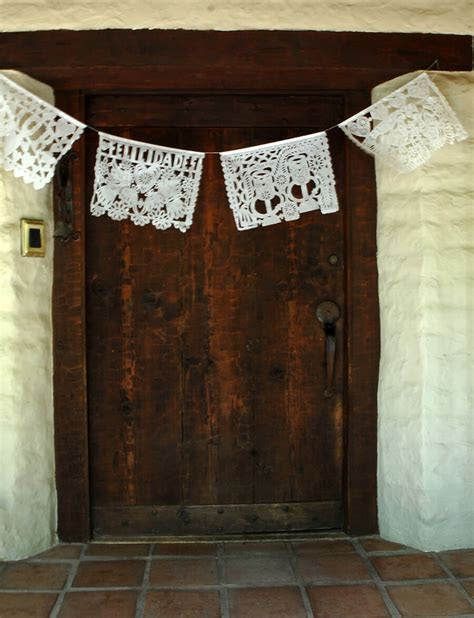 Papel Picado Banner Wedding Large