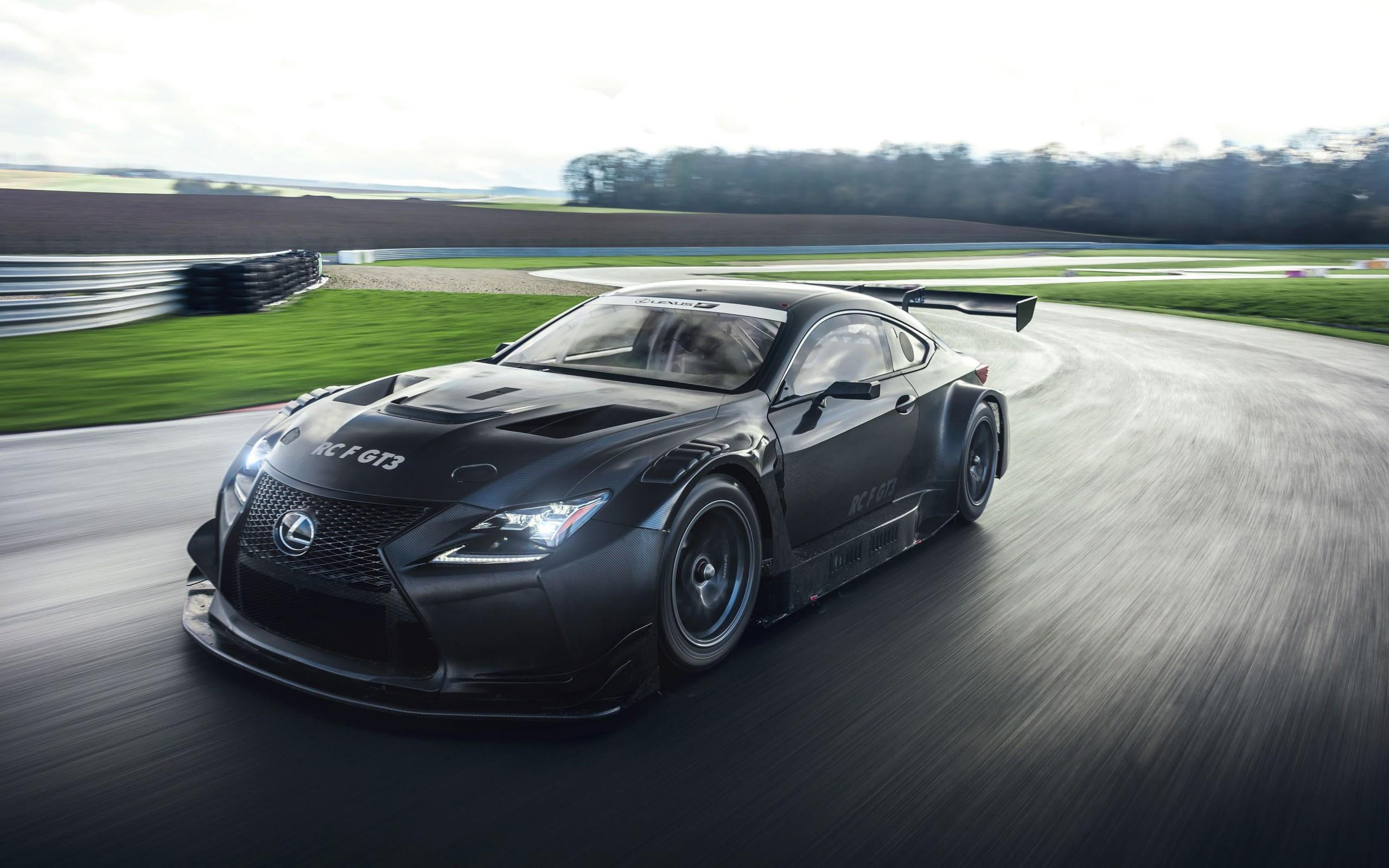 WALLPAPERS HD Lexus RC F GT3