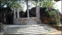 Vihara being constructed at Mayilaththamadu