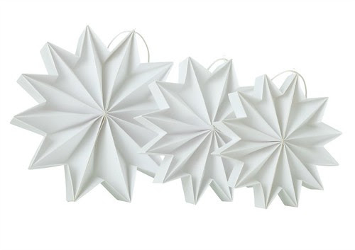 Pleated-Stars-White