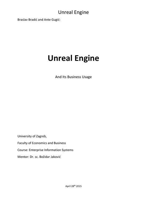 Unreal Engine 4 by brud brud - Issuu