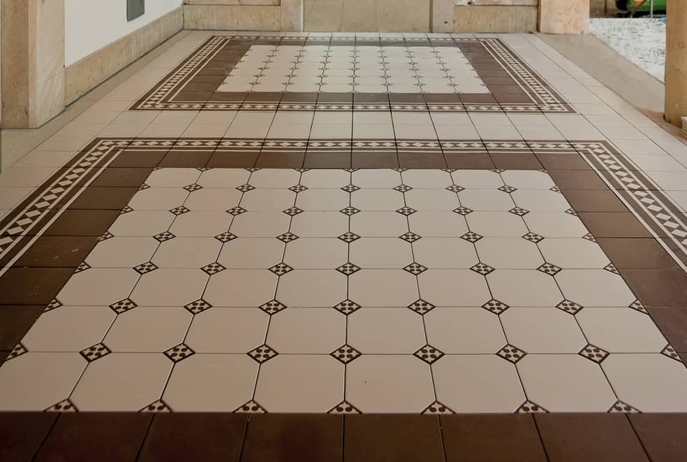 Inspiring Floor Tile Ideas For Your Living Room Home Decor 9