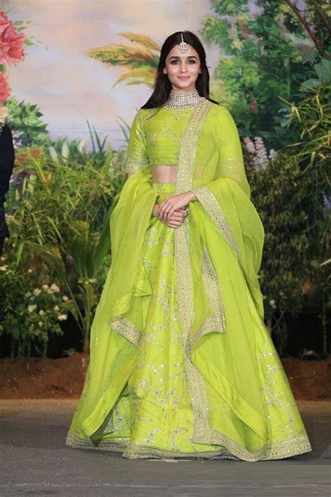 Alia Bhatt in Lehenga Choli   Looks to Get Inspired From!