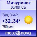 Погода от Метеоновы по г. Мичуринск