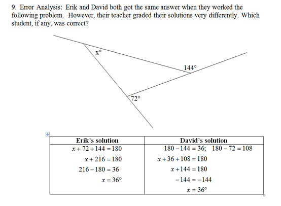 Triangle Interior Angles Worksheetpdf and Answer Key. Scaffolded questions on this topic