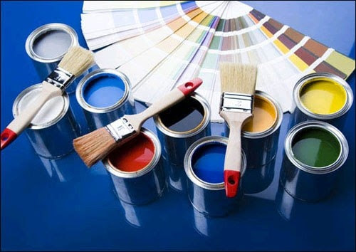 Хранение открытой банки краски