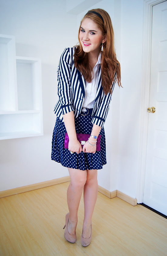 Pattern mixing by The Joy of Fashion (5)