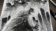 Scenes From The Road 13: Houston Batman Commission