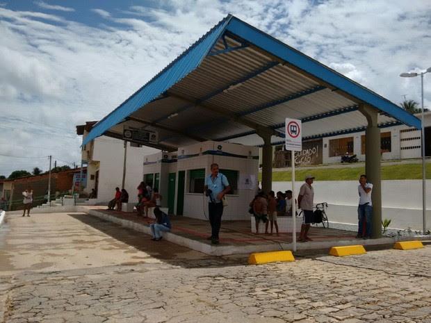 Novo terminal de ônibus do Rio Novo foi inaugurado nesta terça (Foto: Karina Dantas/G1)
