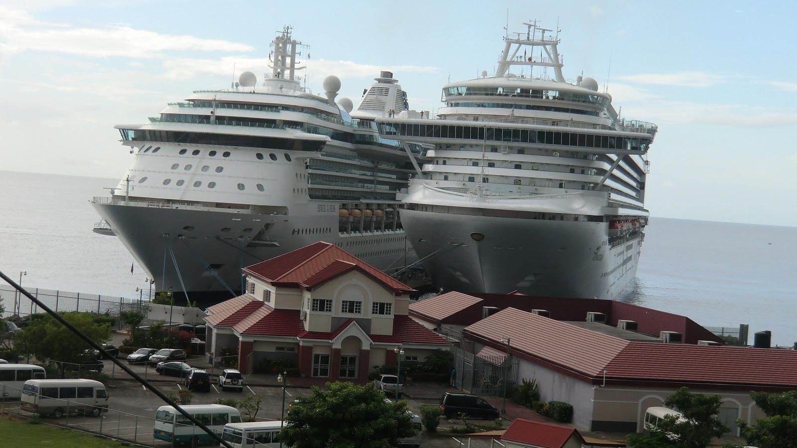 JEWEL OF THE SEAS in Grenada, Port of St. George's