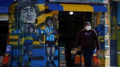 В Аргентине число случаев коронавируса достигло 3 781 784