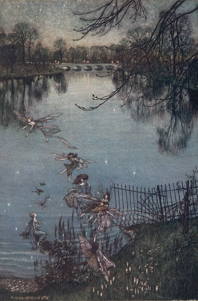 Peter Pan - The Serpentine is a lovely lake... 7