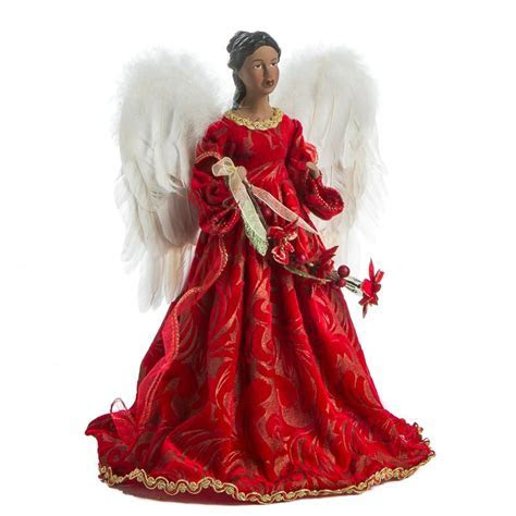 African American Angel Tree Topper   Trees and Toppers