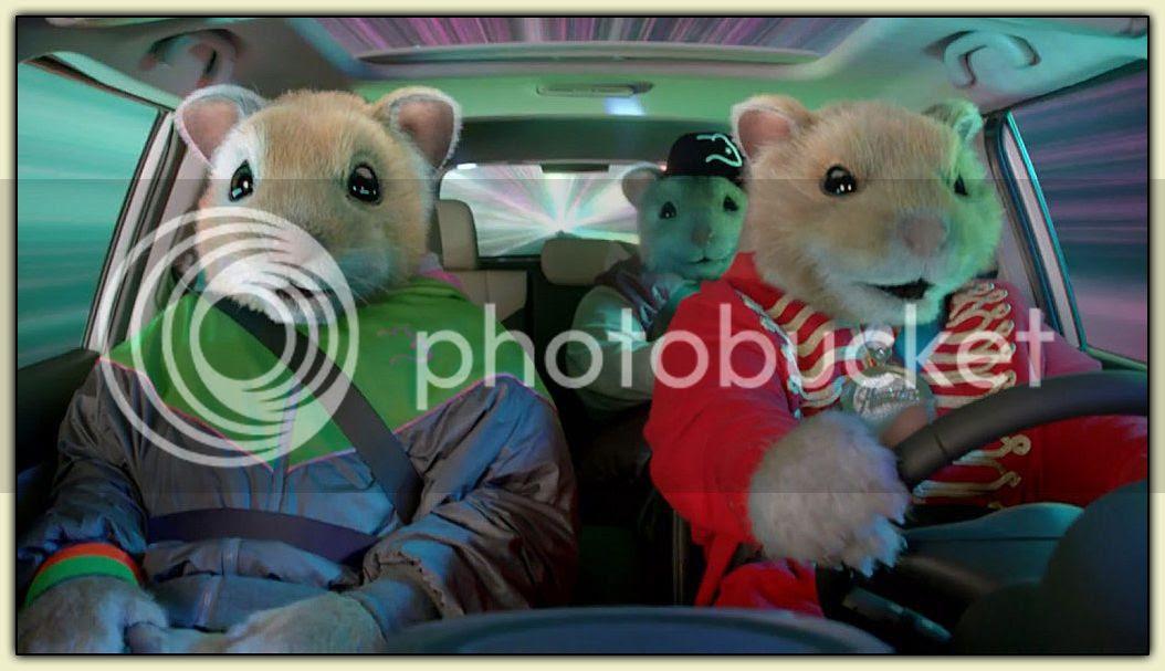 Kia Soul Hamsters