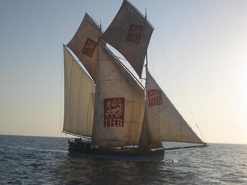 three horse schooner Madagascar