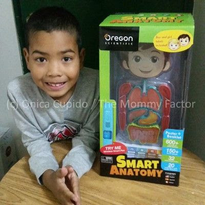 Oregon Scientific Smart Anatomy is an educational and fun way kids learn the human body