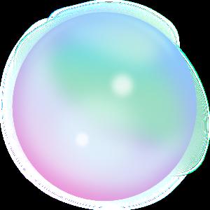 シャボン玉のイラスト 無料イラスト作成ソフトinkscapeインク