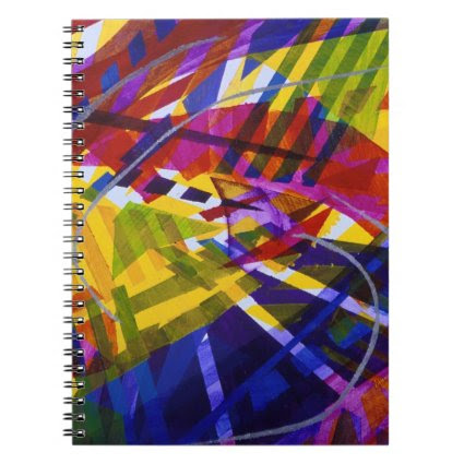 Inner Space – Abstract Rainbow Streams Note Book