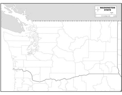 washington state map quiz major cities