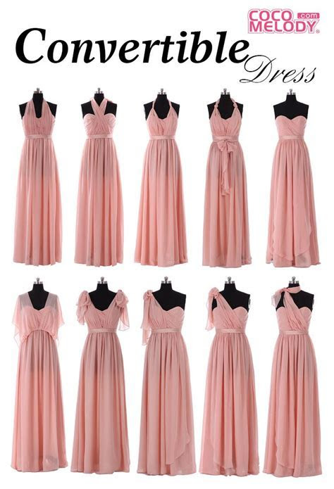 Cocomelody Convertible Dress, one dress, multiple ways to