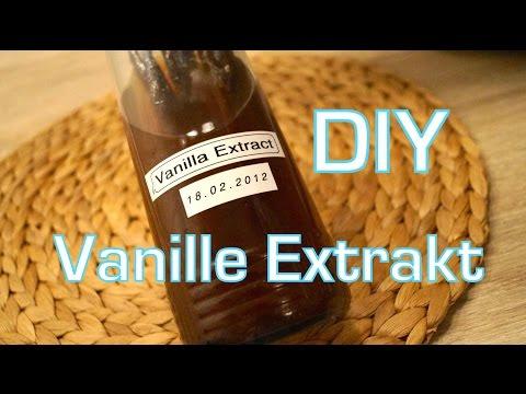 DIY Vanille Extrakt! Suuuper easy!