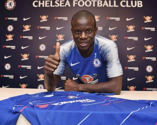 N'Golo Kante wows Fans With New Look (Photo)
