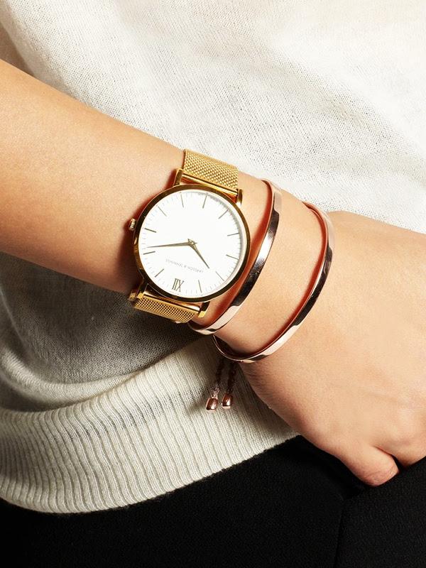 Larsson & Jennings Gold Plated Watch