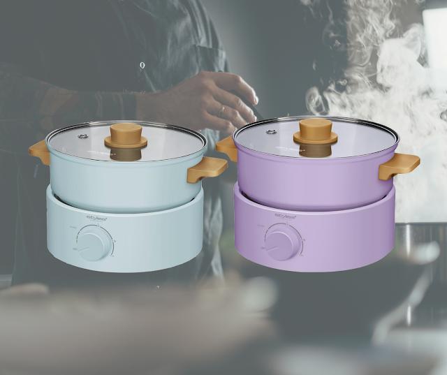 【瑞士 STYLIES】 2L容量多功能煮食鍋 一鍋做到:燉、煮、燜、煎、烤 HK$388