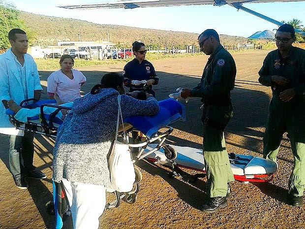 Mãe do menino picado por cobra informou que o estado de saúde dele é grave (Foto: Divulgação/ Graer)