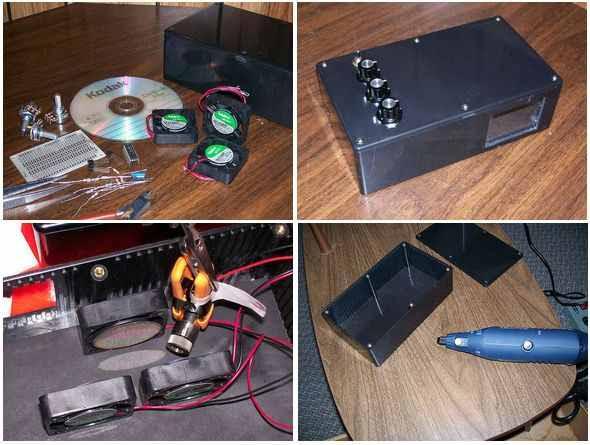 PWM động cơ-laser-MOSFET mạch-PWM-build cấu hình