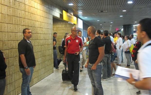 Jayme de Almeida, técnico do Flamengo (Foto: Janir Júnior)