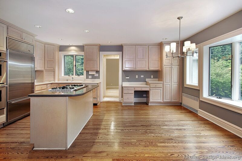Pictures of Kitchens - Traditional - Whitewashed Cabinets