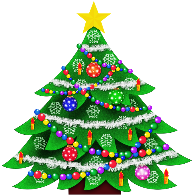 Transparent Christmas Tree Clipart Picture - Cliparts.co