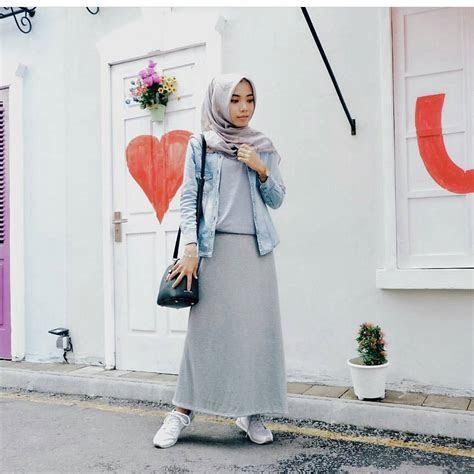 trend fashion hijab modis   remaja kekinian