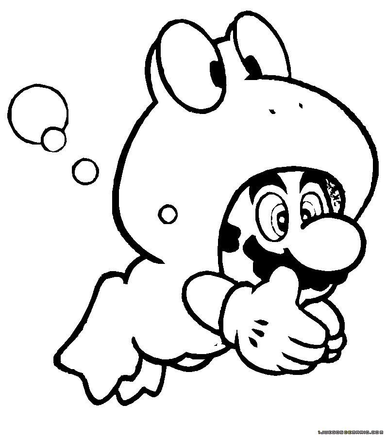 Dibujos Mario Bros Para Colorear Az Dibujos Para Colorear
