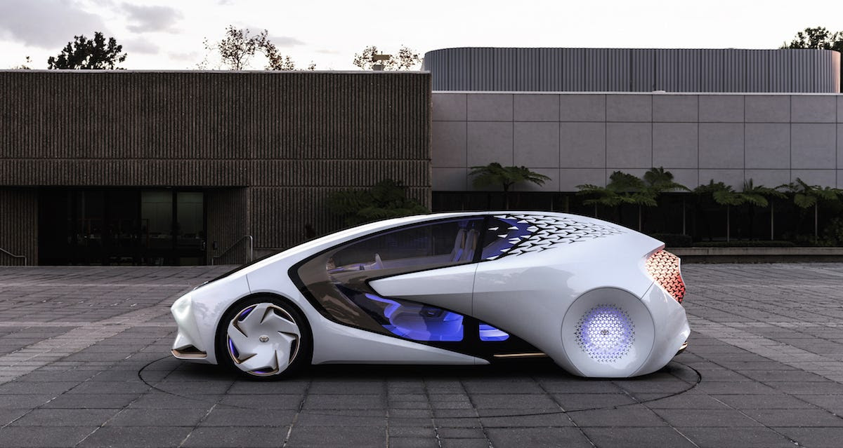 Concept-i is Toyota's latest concept car and shows how the company is taking a gradual approach to self-driving vehicles.